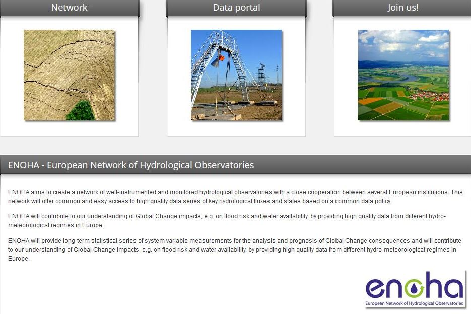 HOAL: European network of hydrological observatories (ENOHA)