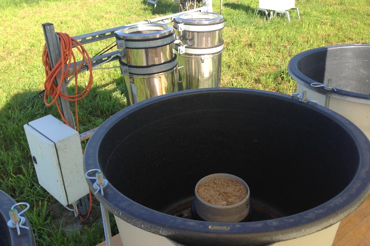 splash erosion cup