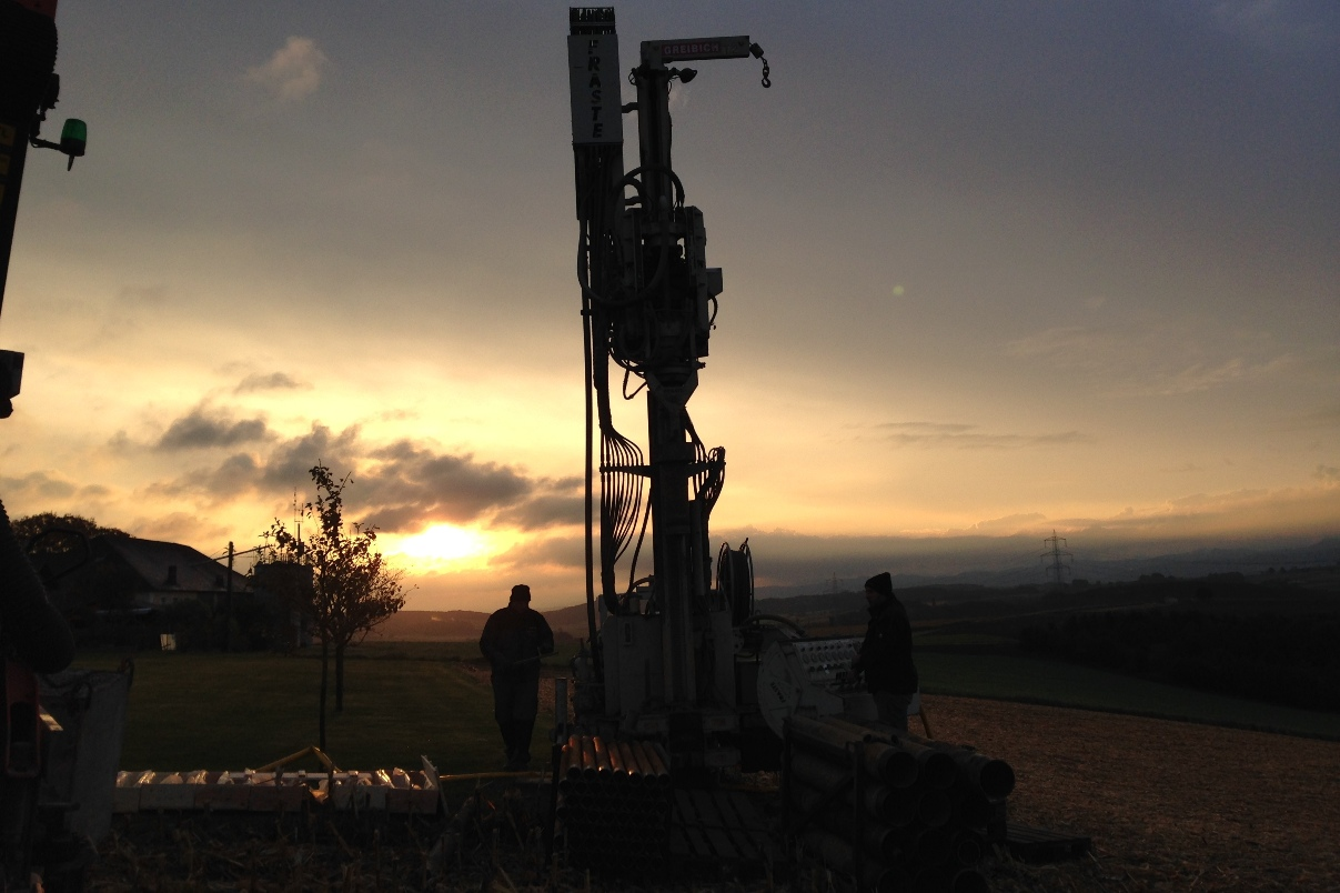 drilling sunrise