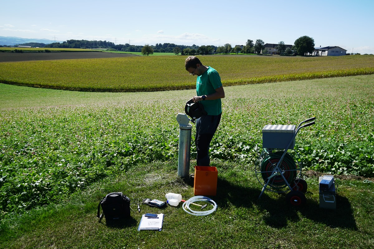 groundwater sampling